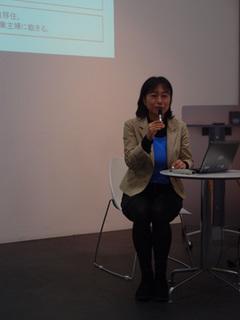 講義中の太田明子さんA.jpg